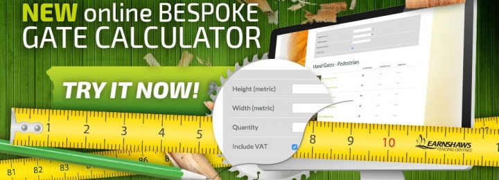 Earnshaws Fencing Centres Launch Bespoke Gate Calculator