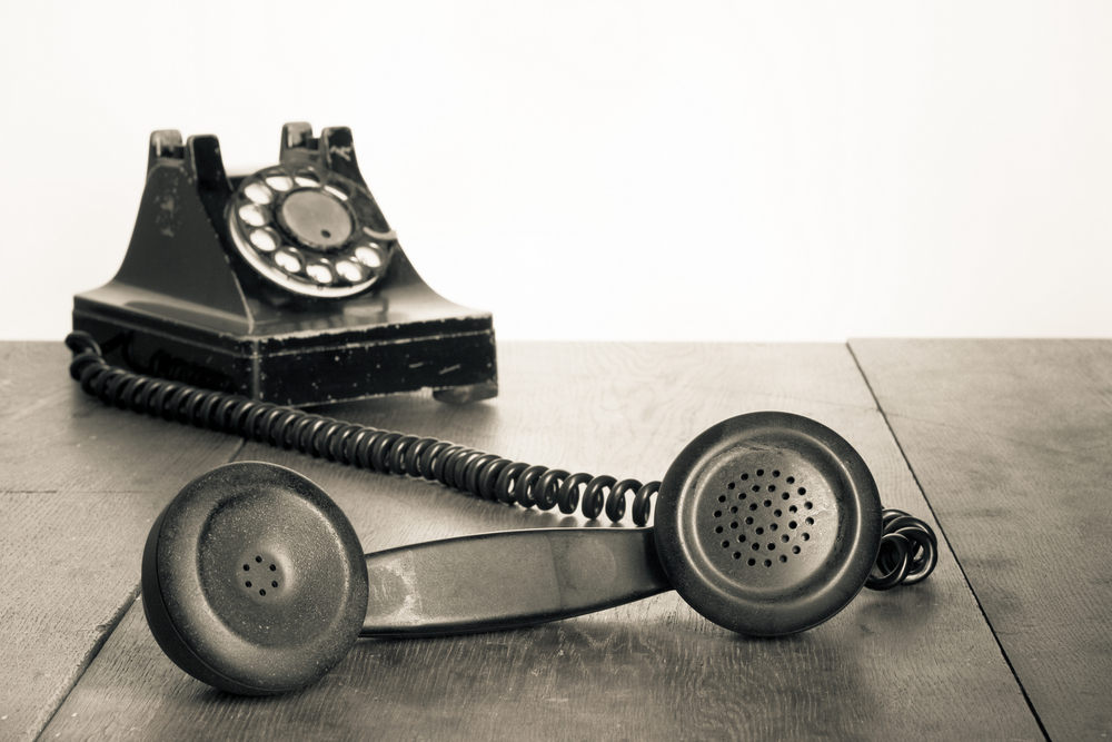 Image result for telephone notice