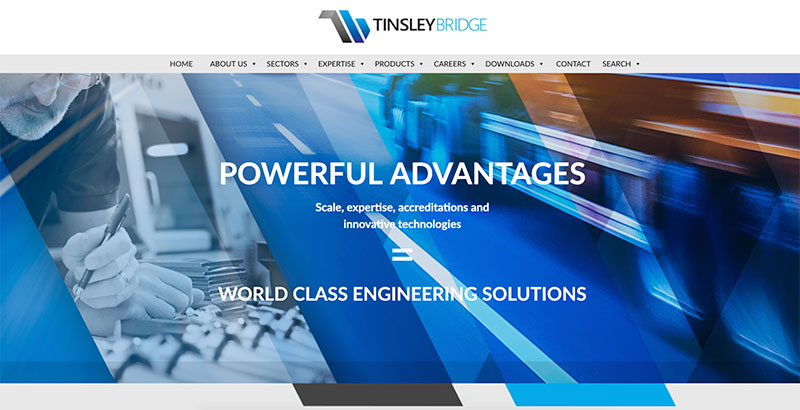 Tinsley Bridge Innovative Website