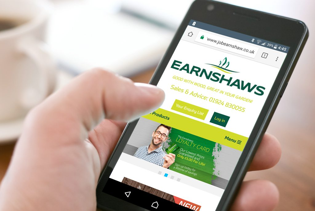 The News Earnshaws Fencing Centres Website for Mobile