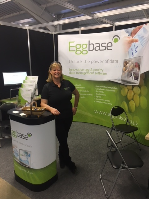 Anne Fleck covering all bases at the Pig and Poultry Show