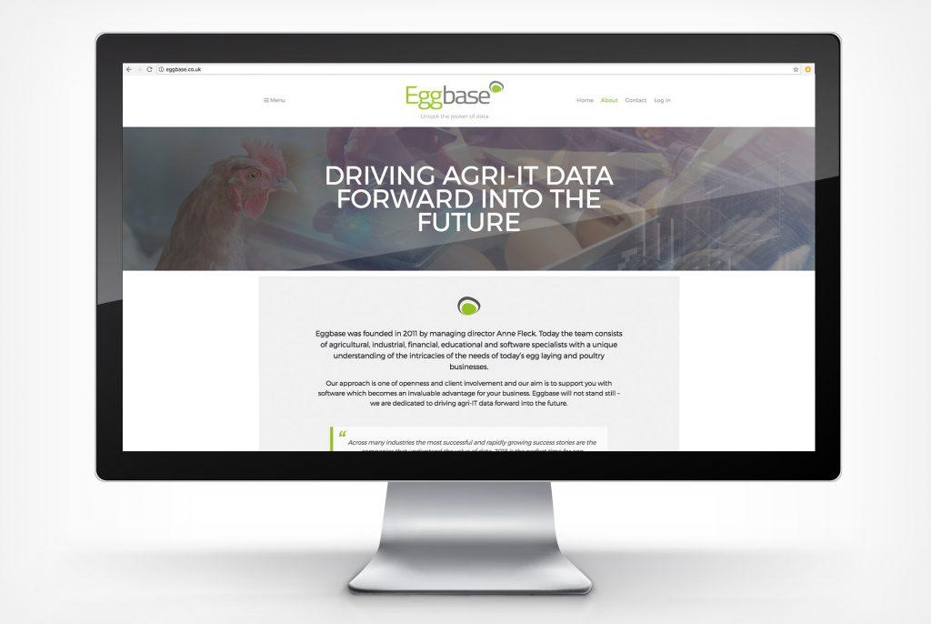 Eggbase Portfolio Blacksmith webpage