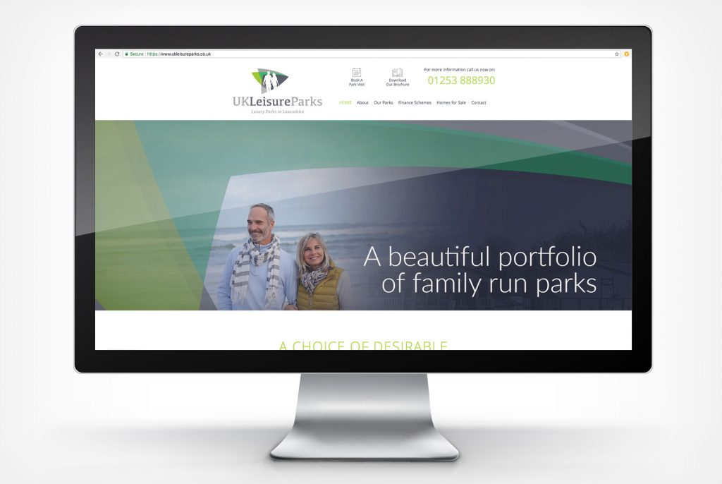 UK Leisure Rebrand Portfolio Blacksmith Homepage