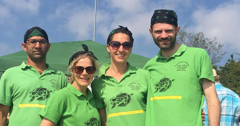 Green Dragons took on the Rotary Challenge at Pugneys