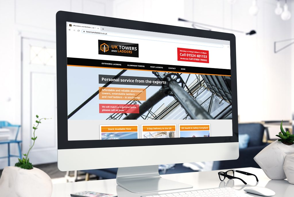 UK Towers and Ladders Website