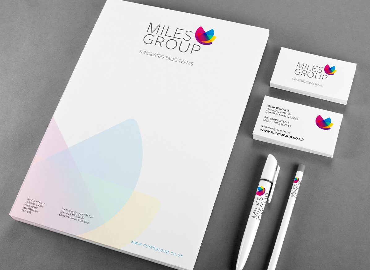 The Miles Group Branding