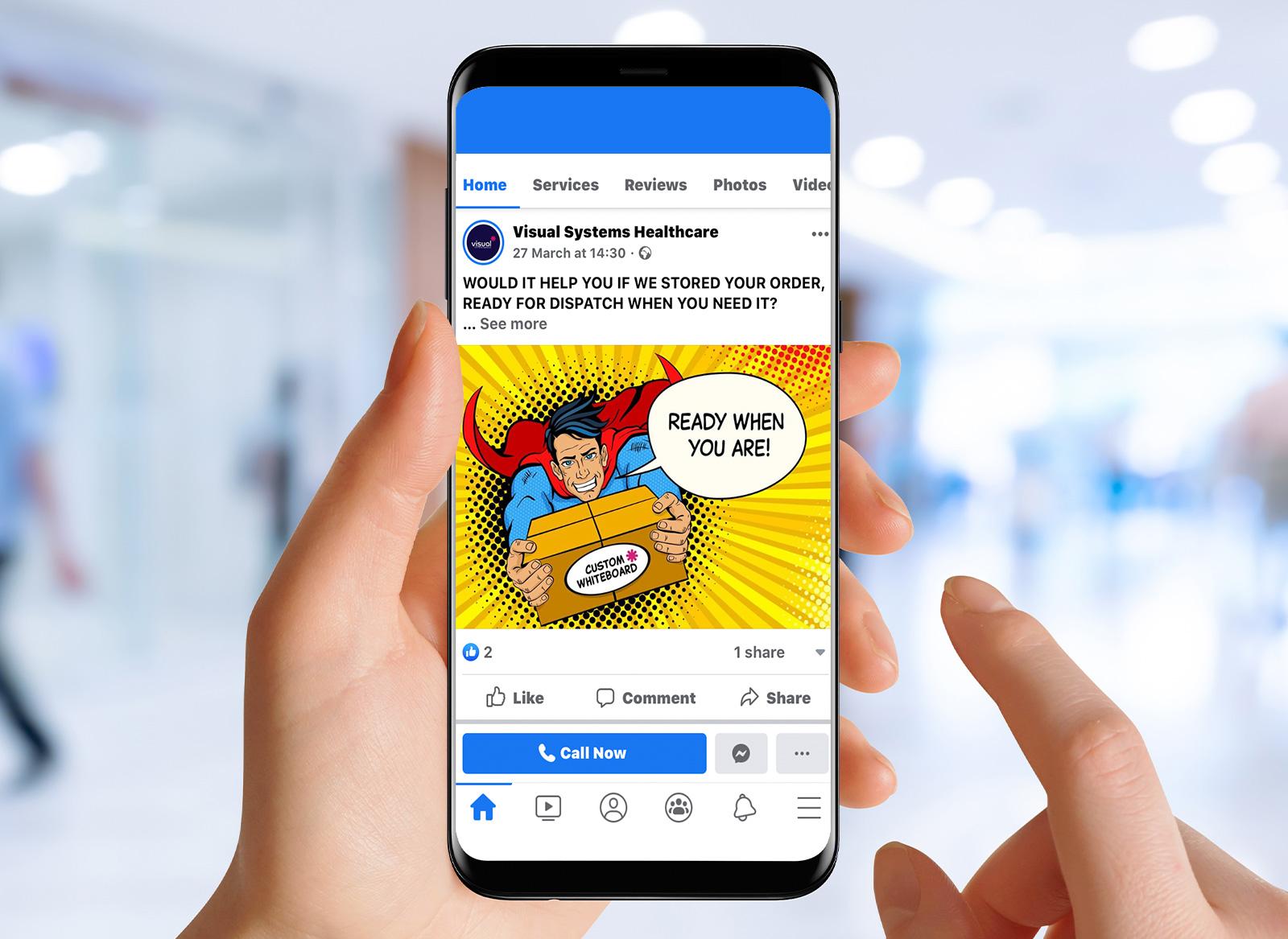 Visual Sysetms Healthcare Social Media