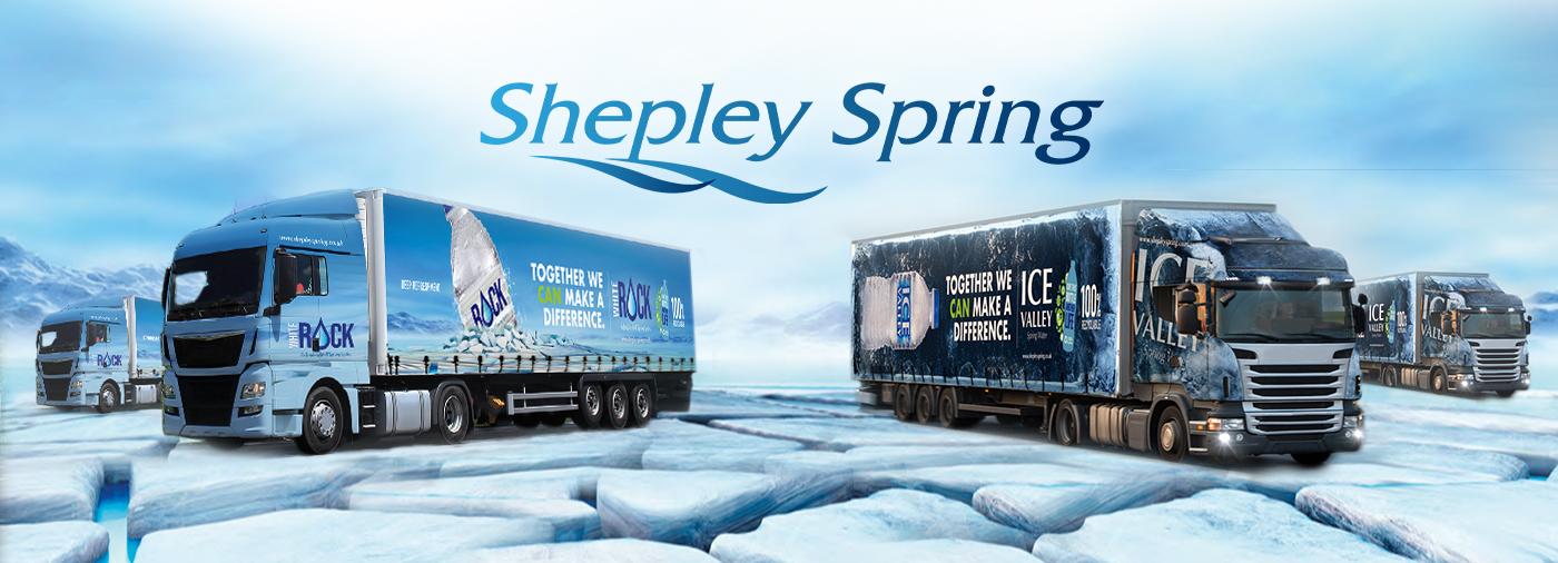 Shepley Spring's Fleet of Pantechnicons