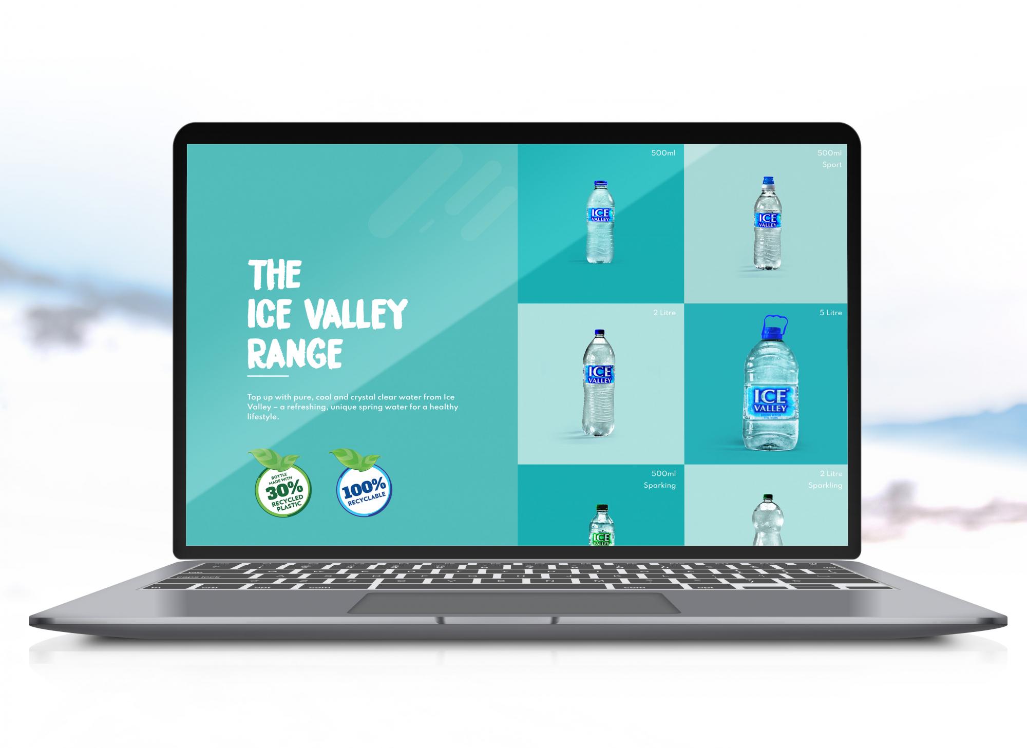 Ice Valley Website Design