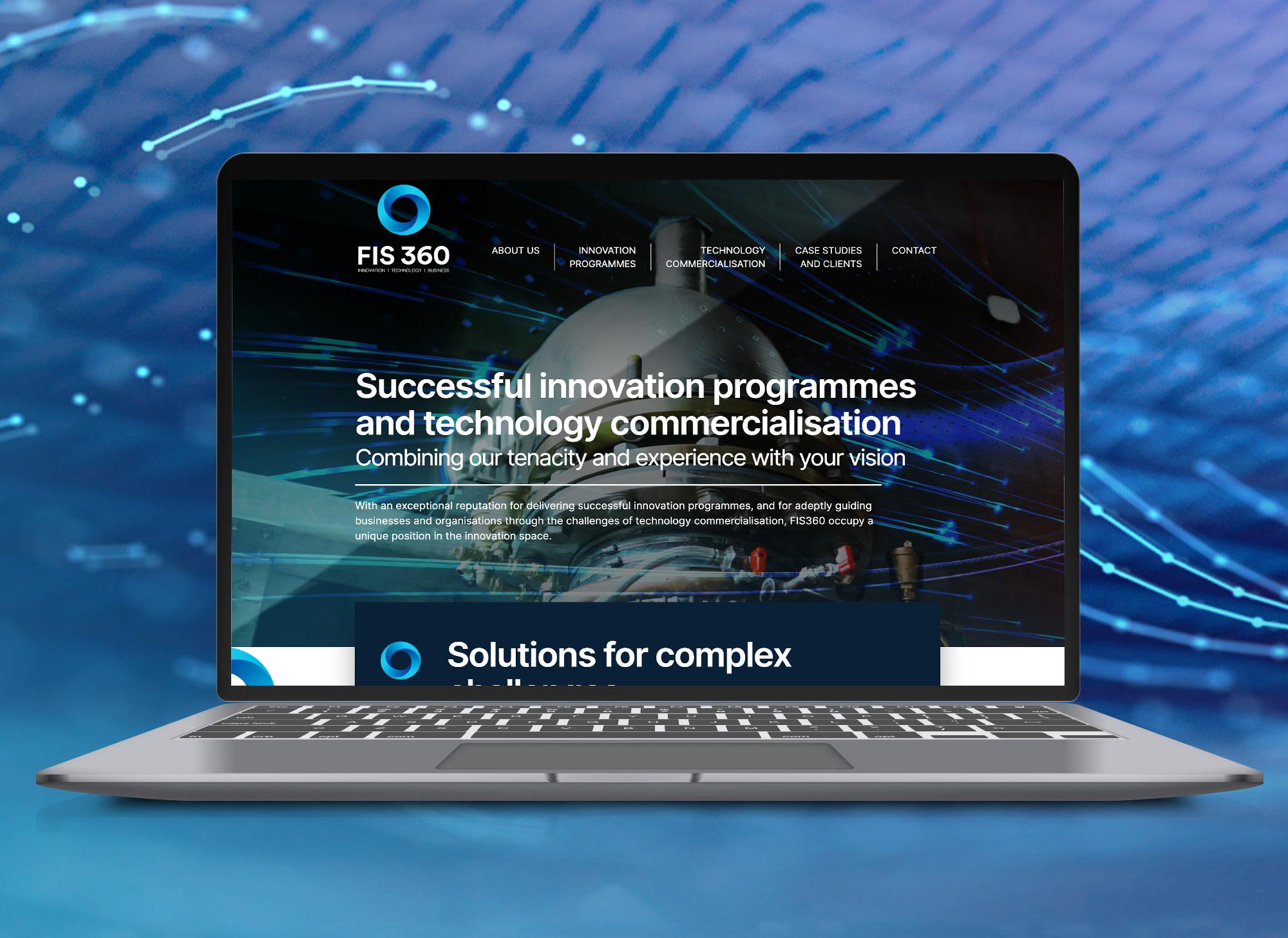 FIS360 web design and re brand