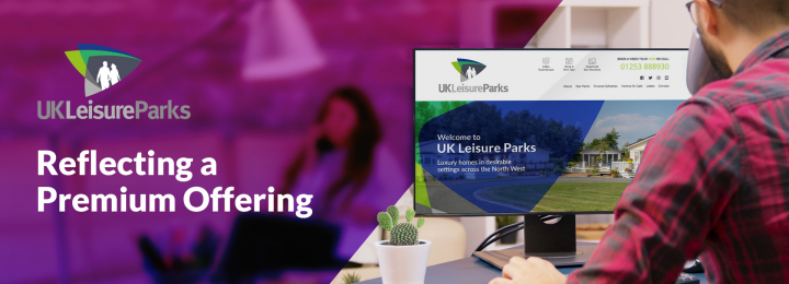 Identity Refresh and Website Upgrade for UK Leisure Parks